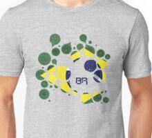 Brazil Flag Circles Unisex T-Shirt