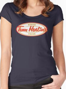 TUM HURTIN'S!! Women's Fitted Scoop T-Shirt