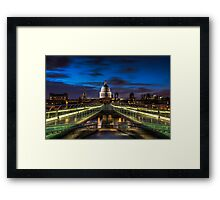Way to St.Paul Framed Print