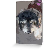 My Dog Greeting Card