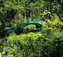 A Peek into the Garden by Barbara  Brown