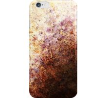 Rust sun rising iPhone Case/Skin