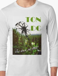The 100 - Vintage Travel Poster (Ton DC) Long Sleeve T-Shirt