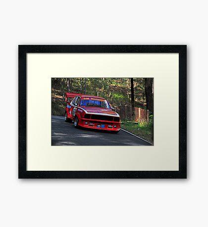 Racing Torana  Framed Print