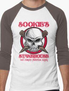 Sookie's Stakehouse Men's Baseball ¾ T-Shirt