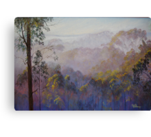 Across the Valley Towards Yea Canvas Print