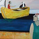 Waiting for Seamail by Saren Dobkins