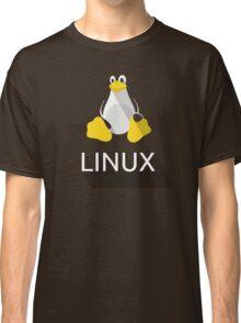 Tux the Penguin flatshaded Classic T-Shirt