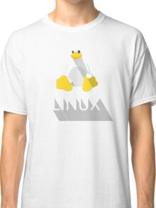 Tux the Penguin flatshaded Classic T-Shirt