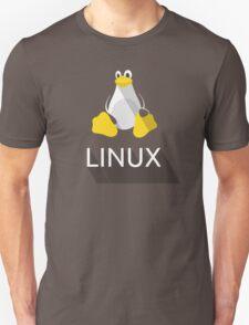 Tux the Penguin flatshaded Unisex T-Shirt