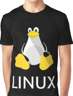 Tux the Penguin flatshaded Graphic T-Shirt