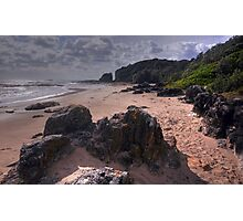 Rocks On The Shore Photographic Print