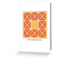 Design 99 Greeting Card