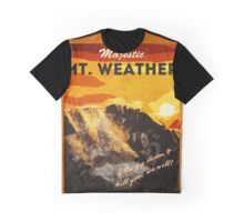 The 100 - Vintage Travel Poster (Mt. Weather) Graphic T-Shirt
