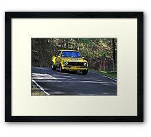 Ford Escort Racing Car Framed Print