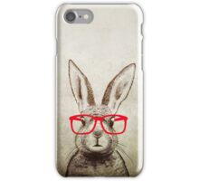 quirky bunny iPhone Case/Skin