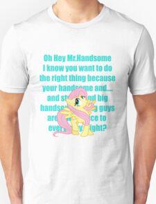 Hey Mr.Handsome! Unisex T-Shirt