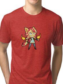 Pony Up - RISE AGAIN Tri-blend T-Shirt