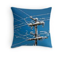 Power is Out... Throw Pillow