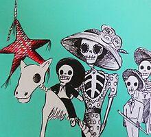 Día de los Muertos Fiesta  by 1Artistmind