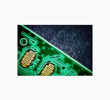 Electronic Green Neon Computer Board Unisex T-Shirt