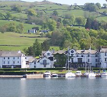 Ambleside on Lake Windermere. UK by Peter Cooper