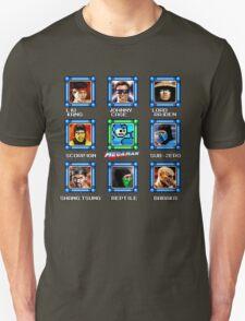 MegaMan vs Mortal Kombat Unisex T-Shirt