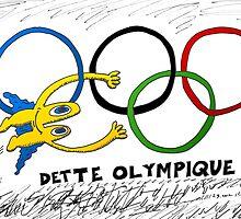 Dette Olympique avec Euroman en BD by Binary-Options