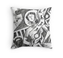 Mother Series 7 Throw Pillow