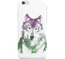 Watercolour Wolf iPhone Case/Skin