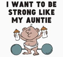 Strong Like My Auntie One Piece - Long Sleeve