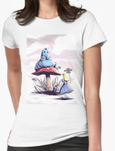 Alice & Caterpillar by Trevor Wood Womens Fitted T-Shirt