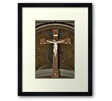St Mary's Crucifix - Belfast Framed Print