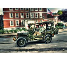 Willys MB Photographic Print