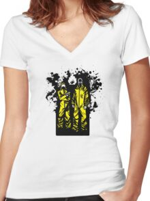Those Yellow B@st@*ds! Women's Fitted V-Neck T-Shirt