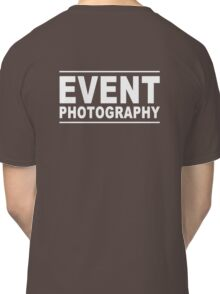 event photography Classic T-Shirt