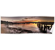 Sunset Melody - Clareville, Sydney Australia - The HDR Experience                  Poster