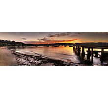 Sunset Melody - Clareville, Sydney Australia - The HDR Experience                  Photographic Print