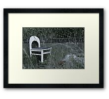House of fun Framed Print