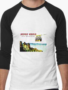 Scenic World Men's Baseball ¾ T-Shirt