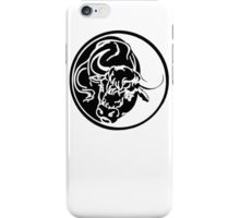 Black Bull iPhone Case/Skin