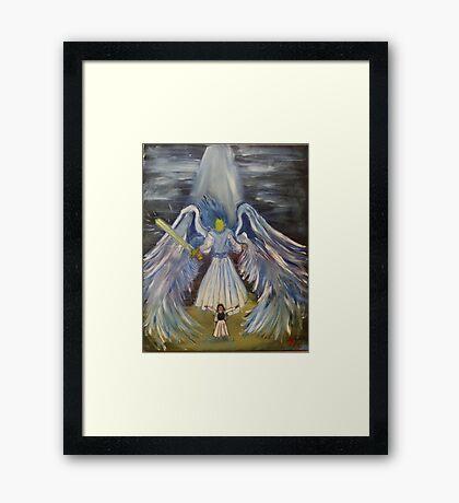 """Guardian""  by Carter L. Shepard Framed Print"