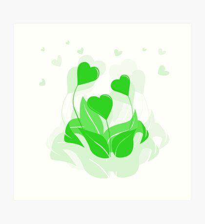ecology emblem Art Print