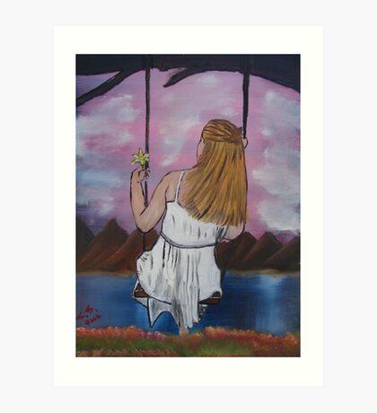 """Longing""  by Carter L. Shepard Art Print"