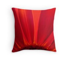 Red Petals Throw Pillow