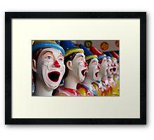 Say Ahhh! Framed Print