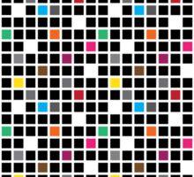 Disco Blocks Sticker