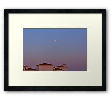 Spainish sunset Framed Print