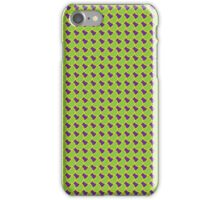 Green Yellow Fish Scales iPhone Case/Skin