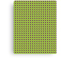 Green Yellow Fish Scales Canvas Print